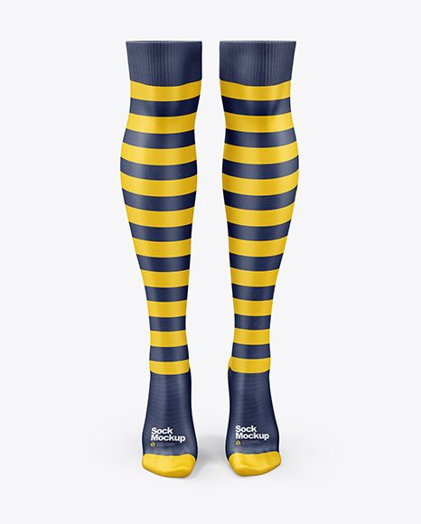 Download Two Long Socks Mockup In Apparel Mockups On Yellow Images Object Mockups Design Mockup Free Free Psd Design Psd Template Free