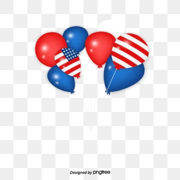 Decorative Balloon Elements For Us Presidents Day National Flag Presidency Day Happy Presidents Day Png Transparent Clipart Image And Psd File For Free Downl Happy Presidents Day Balloons Presidents Day