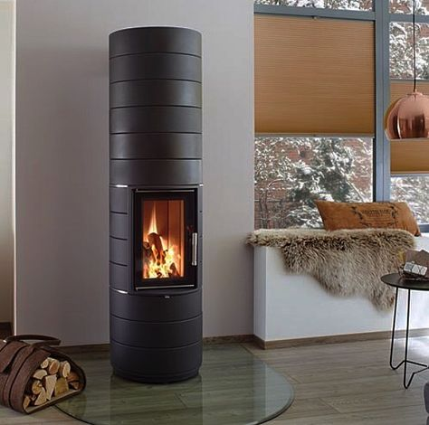 Kaminofen Leda Colona Lite Schwarz 6 Kw House Home