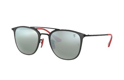 ef4ab3df0b Occhiali Da Sole Ray-Ban RB3601 Scuderia Ferrari Collection M Nero (Argento  Flash)