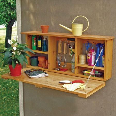 Wall Mount Garden Caddy 104 Best Storage Images On Pinterest Tool  Organization