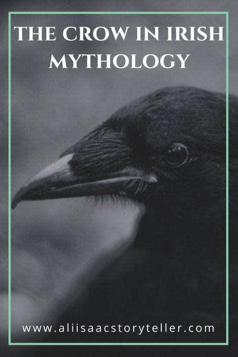 The Crow in Irish Mythology the crow in irish mythology.aliisaacstory… The Crow in Irish Mythology The Crow, Folklore, Irish Culture, Celtic Culture, Celtic Mythology, Celtic Paganism, Roman Mythology, Greek Mythology, Crows Ravens