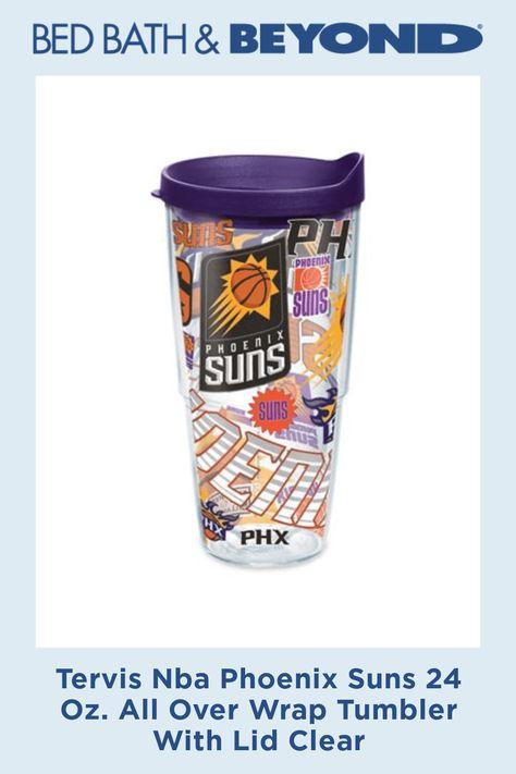 Tervis NBA Phoenix Suns Tumbler Clear 24 oz