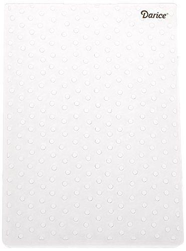 Darice Embossing Folder ~ Dot Background ~Large  5 X 7 Polka Dots A2 1217-67