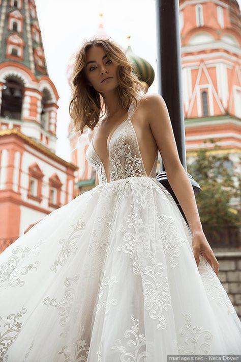 60 robes de mariées très sexy pour des mariées audacieuses #robes #mariée #sexy #collection #wedding #style #idea #inspiration #mariage #novia #bride #2018