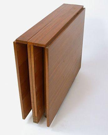 Maria Drop Leaf Teak Dining Table By Bruno Mathsson Meubel Ideeen Houtbewerking Ideeen En Huis Interieur