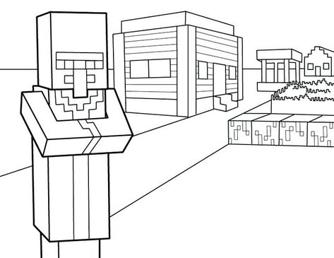 Minecraft Herobrine Coloring Pages Printable Free Sheets For Kids