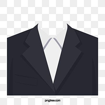 Suit Black White Suit Clipart Formal Wear Passport Size Photo Suit And Tie Men Suit Black And White Cartoon Seamless Pattern Vector Black And White Background