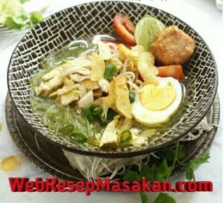 Soto Ayam Kuah Bening Soto Resep Masakan Resep Masakan