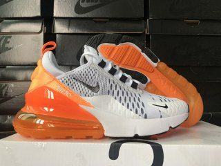nike air max 270 white orange black