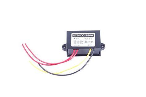 Knacro Ac Dc To Dc Converter Ac 16 28v Dc 16 40v Step Down To 12v 5a Power Supply Module Ac Dc To Dc Converter Ac 16 Company Logo Converter Tech Company Logos