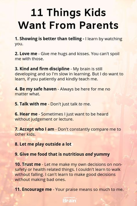 Not iPad, not toys, these are the things our kids want from us #parenting #parentingtips #parentingforbrain