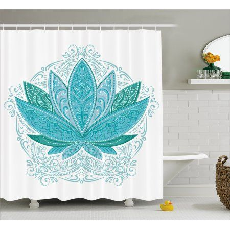Lotus Shower Curtain At Walmart This Is The One With Images