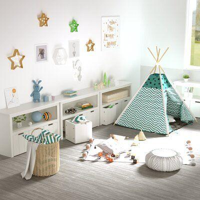 Latitude Run Aahim Kid Toy Organizer Wayfair In 2020 Living Room Toy Storage Kid Toy Storage Kids Storage