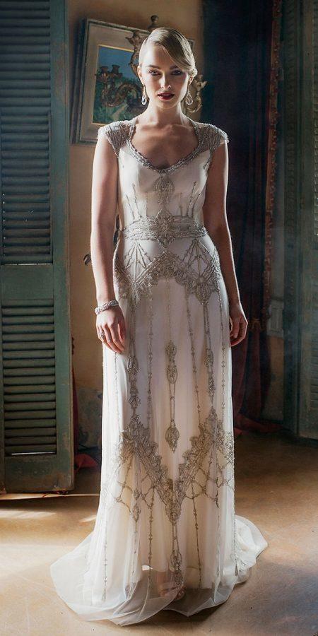 24 Modest Wedding Dresses With Sleeves Wedding Dresses Guide Vintage Wedding Dress 1920s 1920s Wedding Dress Retro Wedding Dresses