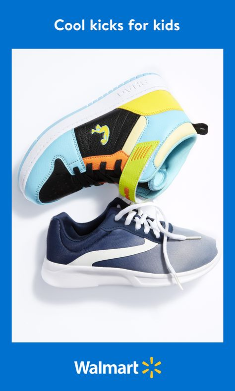 Find a cool new pair of kicks that your little guy will love at Walmart