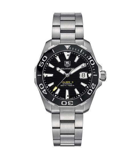 Aquaracer Calibre 5 Automatic Watch 300 M - 41 mm Ceramic Bezel WAY211A.BA0928 TAG Heuer watch price