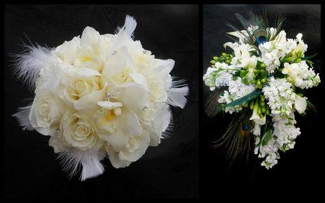 Bouquet Da Sposa Settembre.Bouquet Sposa Settembre Due Proposte Bianco Prima Tonda Piume