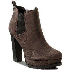 74e6561a18 Členková obuv TOMMY HILFIGER - DENIM Boo 1Z FW0FW01746 Black 990 ...