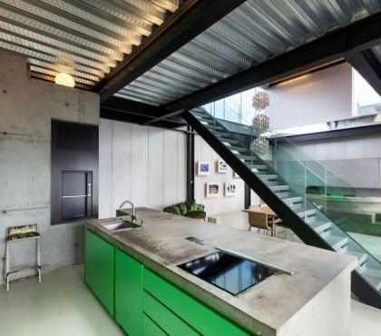 Cloison Bois Une Esthetique Fonctionnelle A La Maison Mobilier Vert Cloison Bois Et Idees De Plafond