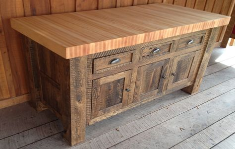 island butcher block kitchen table tops for sale