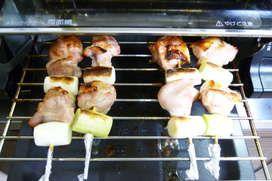 魚焼きグリルでお店の味 鶏もも塩焼き鳥 レシピ 魚焼きグリル
