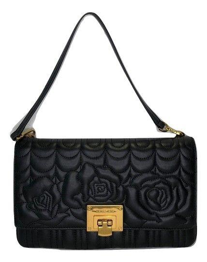 4616d290e3a91 Michael Kors Vivianne Black Flowers Leather Clutch. Get the trendiest  Clutch of the season! The Michael Kors Vivianne Black Flowers Leather  Clutch is a top ...
