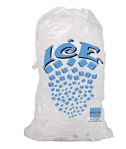 10lb Ice Bags With Drawstring 100ct Ice Bag Bags Produce Bags