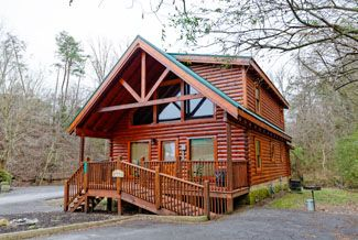 Pigeon Forge Cabin Conveneinet To The Pigeon Forge Parkway Log Home Builders Cabin Plans Mountain House Plans