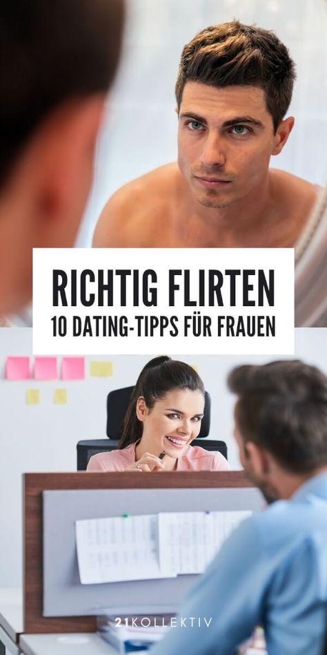 Geschickt flirten