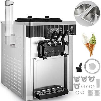 Ad Ebay Url Commercial Countertop Soft Ice Cream Machine Frozen