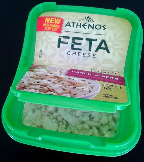 Resealable Flip Top Athenos Feta 1