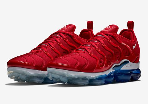 new style d1778 27d4c Nike Vapormax Plus Firecracker/USA 924453-601 | Footwear | Pinterest