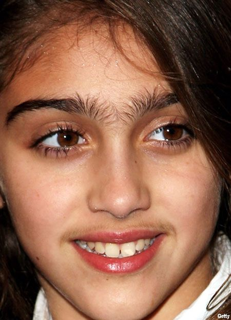 10 Most Hilarious Unibrows (unibrows, unibrow) - ODDEE