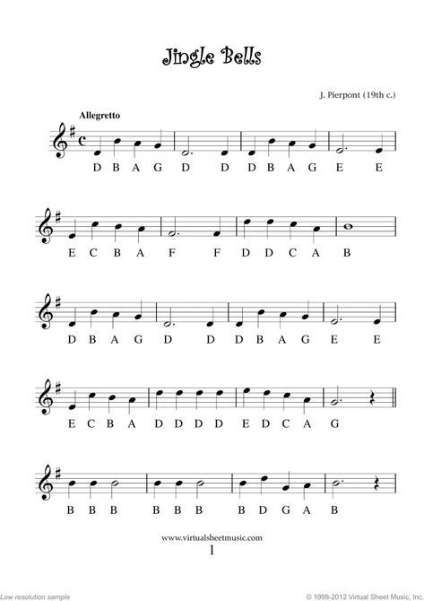 Very Easy Christmas Flute Sheet Music Songs Printable Pdf For Beginners Collection 1 Sheet Music Digital Sheet Music Christmas Sheet Music