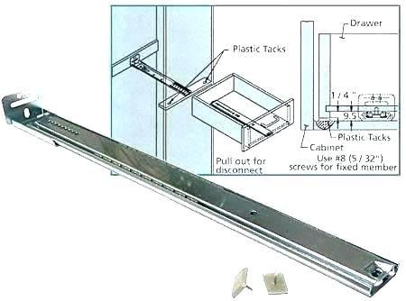 Undermount Drawer Slides Lowes 8 Slide Drawer Slides Lowes Hardware Lowes Kitchen Cabinets
