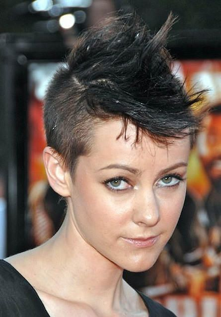 Short Cute Mohawk - The latests trends in women's hairstyles and beauty
