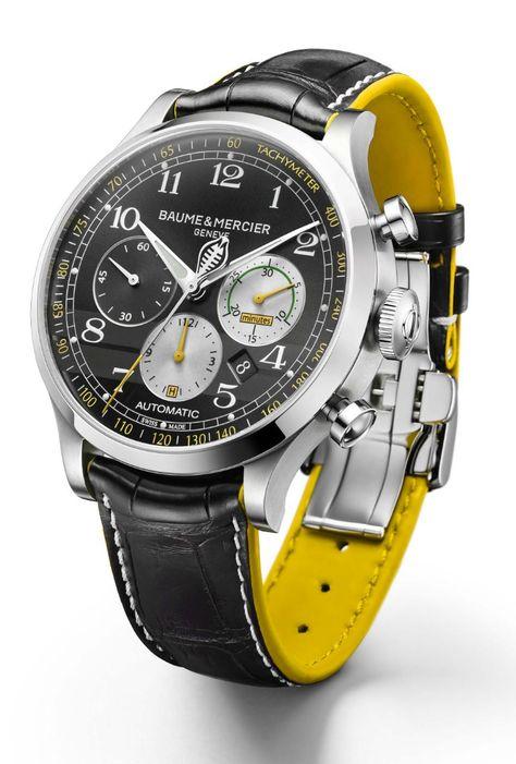 TimeZone : Industry News » SIHH 2016 - Baume & Mercier Capeland Shelby Cobra Chronograph