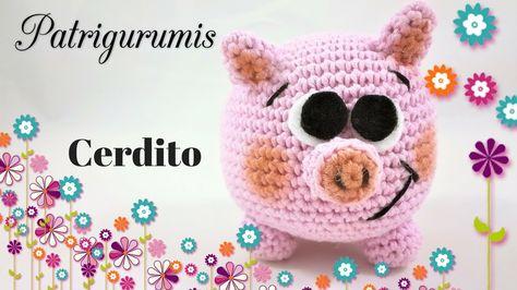 Tutorial Amigurumi Cerdito : Pin by maria paula on ideas crochet amigurumi