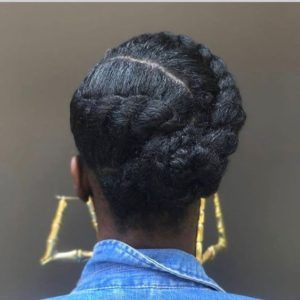 African American Natural Hairstyles For Medium Length Hair Protective Hairstyles For Natural Hair Natural Hair Braids Natural Hair Updo