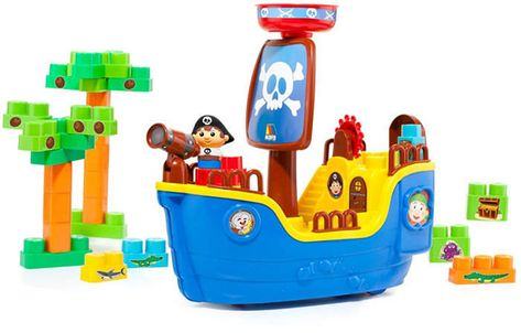 Fundamental Toys Molto - Pirate Ship Blocks, 30 Pieces & Reviews - Kids - Macy's