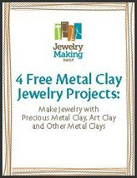 4 Free Metal Clay Jewelry-Making Projects, Plus Make Metal Clay Tools from Household Items - Jewelry Making Daily - Jewelry Making Daily
