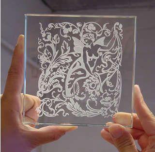 dremel engraved glass | GLASS ENGRAVING USING A DREMEL ENGRAVER - dust - American Woodworker