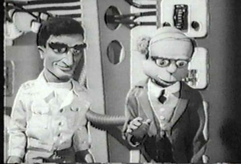Mike Mercury And Dr Beaker In Supercar Kids Tv Shows Childrens Tv Classic Kids