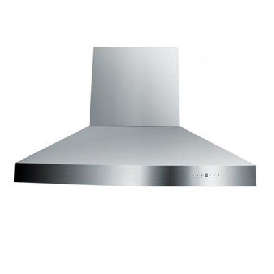 Zline Kitchen And Bath 36 1200 Cfm Ducted Island Range Hood Island Range Hood Kitchen Bath Kitchen Bath Collection