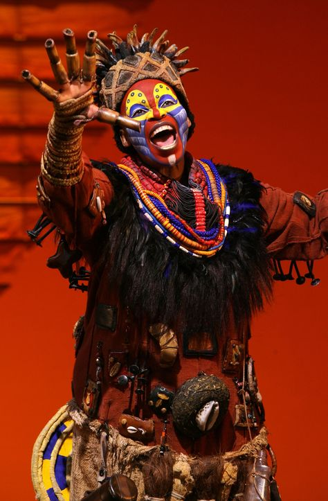 Lion King - Broadway . . . one of the best I've ever seen :). She was AMAZING!