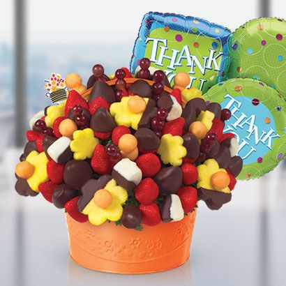 Kudos For All You Do Edible Arrangements Chocolate Dipped Fruit Fruit Basket Gift