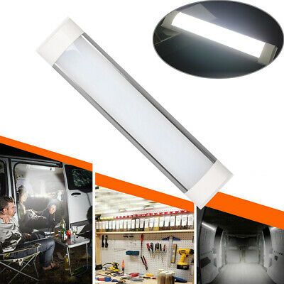 Rv Boat Interior Led Ceiling Dome Light Fixture With Switch Super Bright 12v 18w Ebay In 2020 Led Ceiling Lights Dome Light Fixture Led Ceiling