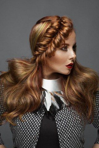 Von Romantisch Bis Rockig Tolle Flechtfrisuren Fur Lange Haare Flechtfrisuren Geflochtene Frisuren Frisuren Lange Haare Madchen