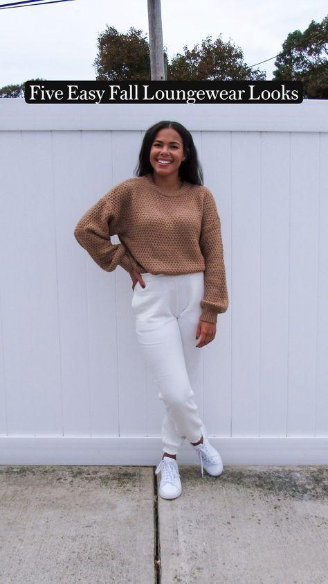Five Easy Fall Loungewear Looks